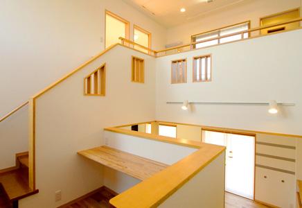 中2階のある家